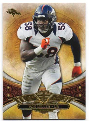 - 2013 Topps Triple Threads #5 Von Miller Broncos NFL Football Card NM-MT