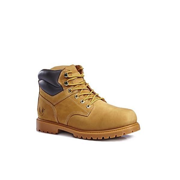 kingshow Men's 1366 Water Resistant Premium Work Boots 1