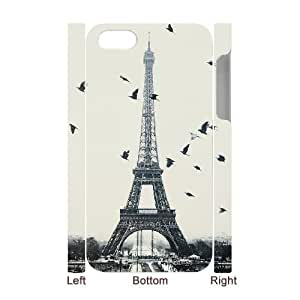 LTTcase Custom Eiffel Tower Durable 3D Case for iphone 4,4s