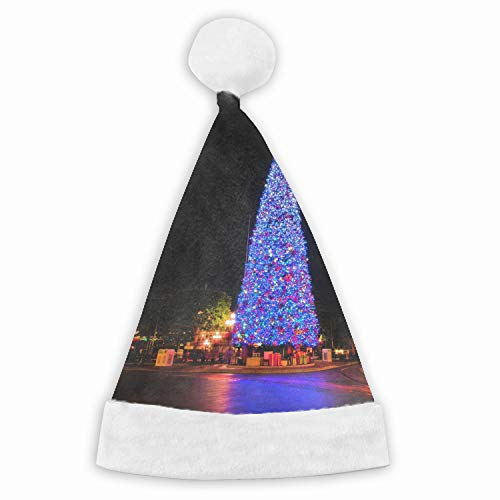 Christmas Tree City Funny Party Hats Santa Hats - Christmas Novelty Hats]()