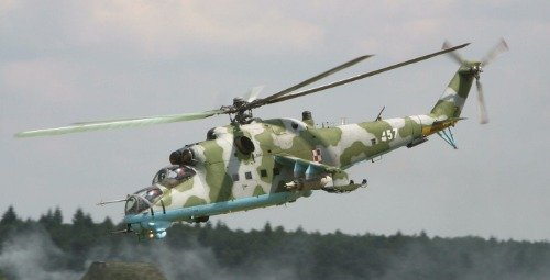 MI-24 HIND HELICOPTER GLOSSY POSTER PICTURE BANNER crocodile attack gunship