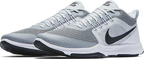 Nike Zoom Dominans Tr Ren Platina / Svart / Hvit Menns Krysse Treningssko