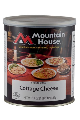 Mountain House, Cottage Cheese 17 oz(1lb 1 oz) by Mountain House