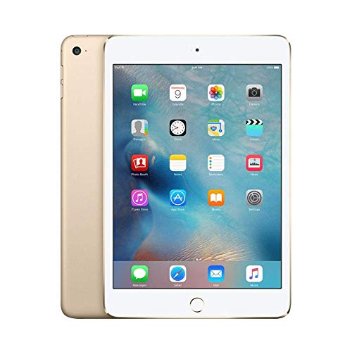 Apple iPad Mini 4 32 GB Wi-Fi Gold (Renewed)
