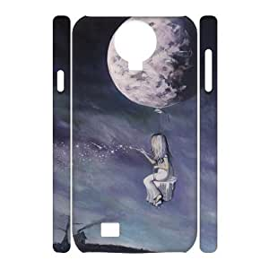 Custom New Case for SamSung Galaxy S4 I9500 3D, Painting The Universe Phone Case - HL-R677817