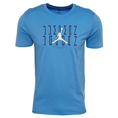 Jordan Men's Sportswear AJ 11 Graphic T-Shirt (University Blu/Mid Navy, L) by NIKE