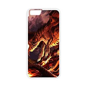 iPhone 6 plus 5.5 inch White Phone Case Ancient Dragon Rational Cost-effective Surprise Gift Unique WIDR8611000922