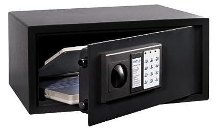Arregui Class T35EB - Caja fuerte de sobreponer electrónica, para portátil (acero, 430