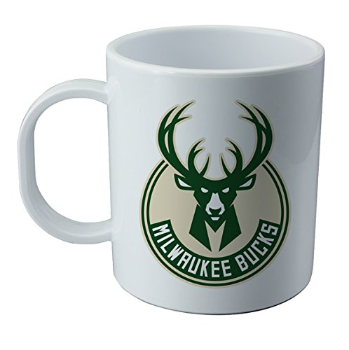 Tazza y adesivo dell' Milwaukee Bucks - NBA Wallp