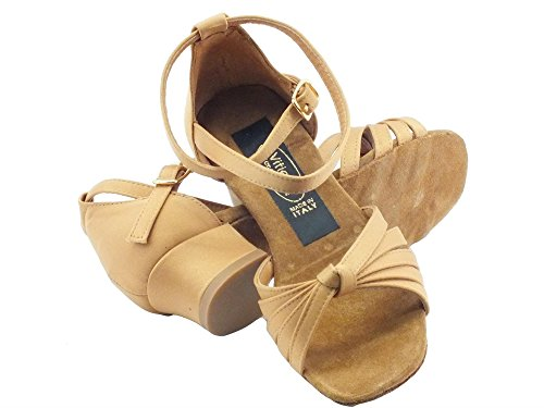 Shoes Dance raso de Dance l Tanganica salon fille a 2cm tanganica Vitiello Sandalo tacco X5xgg6