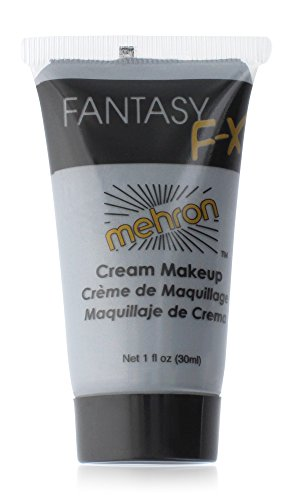 Mehron Fantasy FX Face Paint Tubes - Monster Grey (1 oz) (Quick And Easy Halloween Makeup Ideas)