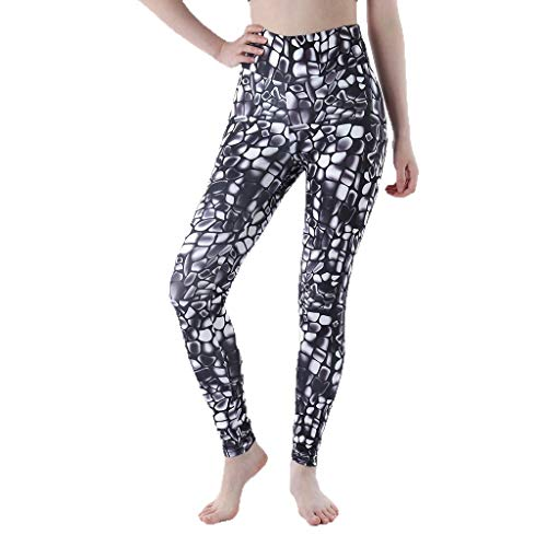Clearance Workout Leggings Pants for Womens, Jiayit Women's Marble Printed Leggings Full-Length Regular Size Yoga Workout Leggings Pants Soft Tommy Control Capris for Women