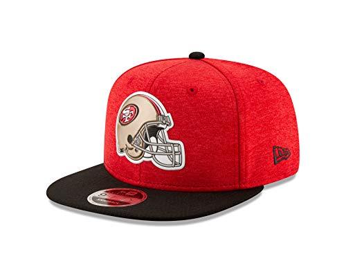 (New Era San Francisco 49ers Helmet Snapback 9Fifty Original Fit NFL Hat)