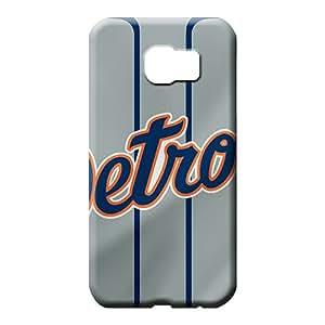samsung galaxy s6 edge Impact Fashion Durable phone Cases mobile phone covers detroit tigers mlb baseball