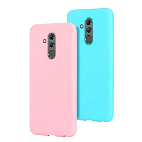 prezzo competitivo 5af68 0a9aa 2 Pack Cover Huawei Mate 20 Lite Custodia Huawei Mate 20 Lite, SpiritSun  Moda Ultraslim Silicone TPU Case Antiurto Paraurti per Huawei Mate 20 Lite  ...
