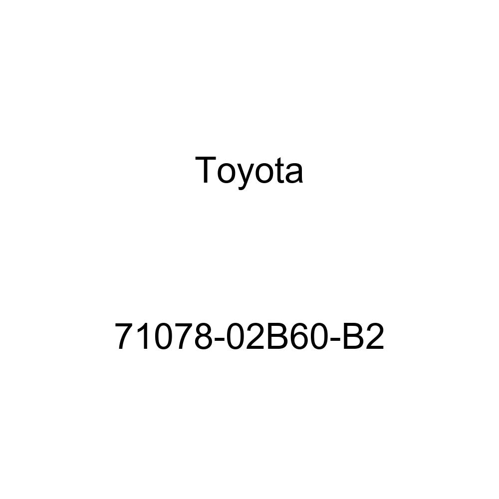 TOYOTA Genuine 71078-02B60-B2 Seat Back Cover