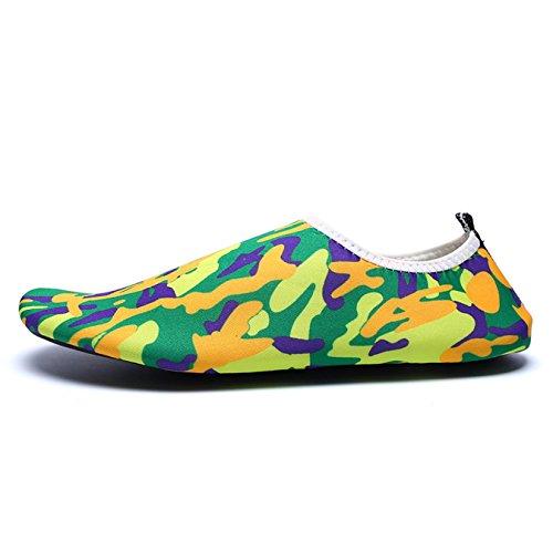 Skyblue Snorkeling Aqua Shoes Shoes Men's Swimming Summer Light Water Beach Camouflage Socks Women's Pwq7qYaWR