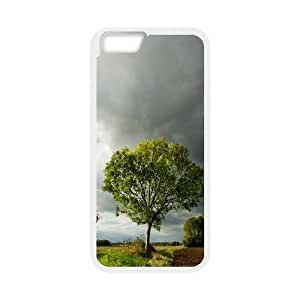 Summer Storm Clouds IPhone 6 Case For Guys Design, Cell Phone Case For Iphone 6 [White]