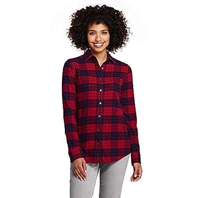 Lands' End Women's Flannel Shirt