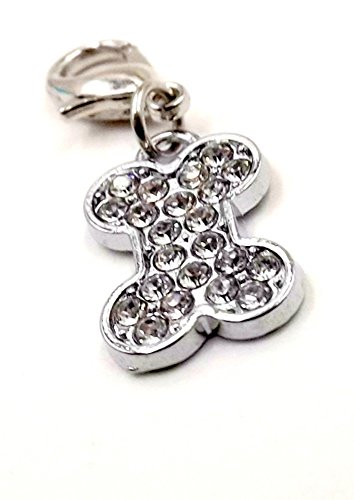 Charm Bling for Canine Collar Fur-baby Pet Collection (Bone Pet Charm)