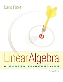 Linear Algebra: A Modern Introduction 9781285463247 Algebra & Trigonometry at amazon