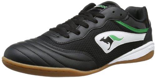 Kangaroos Goal Line 14, Unisex Adults' Trainers Black - Schwarz (Black/White 500)