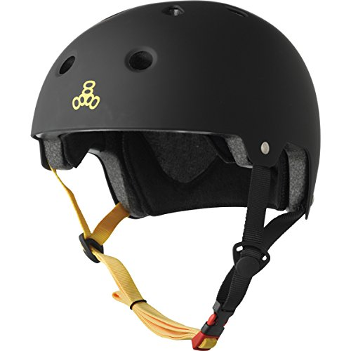 Triple Eight Certified Rubber Helmet