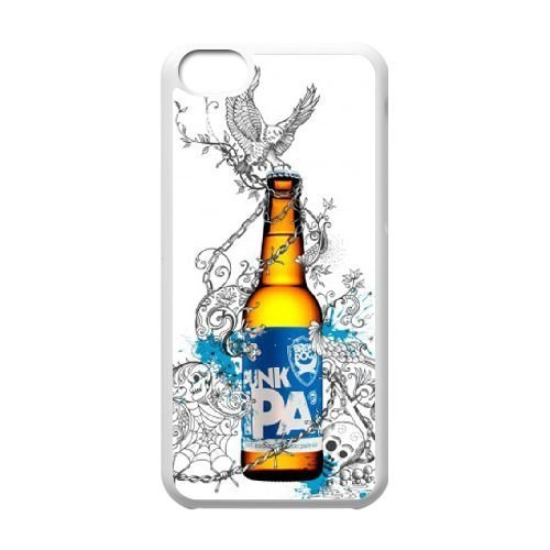 Iphone 5C Phone Case White Brewdog Beer For Punks M6w3xr Phone Case Personalized Customized