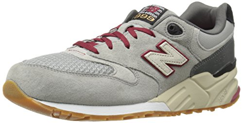 New Balance Mens Ml999 Riders Collection Scarpe Da Corsa Grigio / Rosso