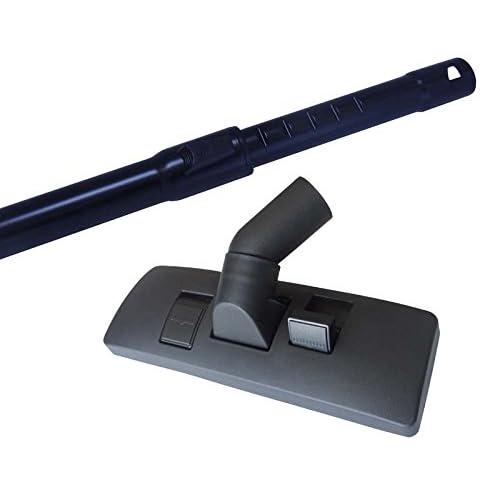 35mm Tube télescopique pour aspirateur Miele Cat & Dog 2200en kit avec brosse d'aspirateur et 5bâtonnets parfumés Alu Saugrohr + Kombidüse Miele Cat & Dog 2200
