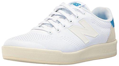 New Balance Mens 300 Lifestyle Court Shoe Fashion Sneaker, multicolor/fantas?a (Powder/Galapagos), 37.5 EU/4.5 UK