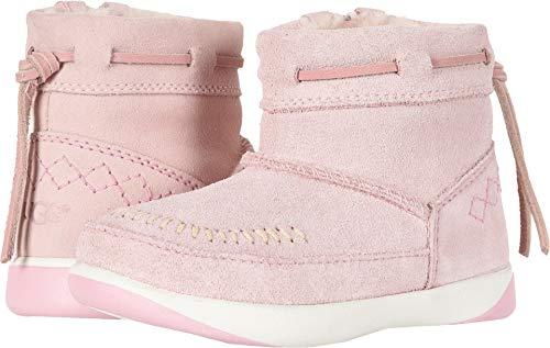 UGG Girls' T Cali Moc Campfire Fashion Boot, Baby Pink, 8 M US Toddler ()