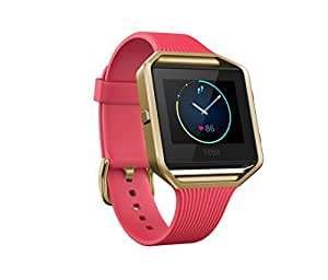 Fitbit Blaze Special Edition, Gold, Pink, Small (US Version)