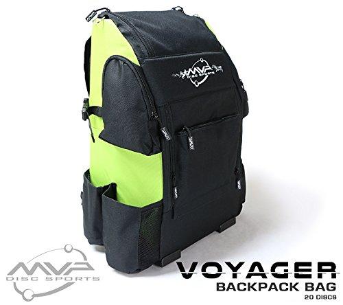 MVP Disc Sports Voyager Backpack Disc Golf Bag ()