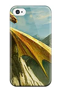 Cute High Quality Iphone 5c Mountain Dragon Case