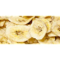 Smarty Stop Sweetened Banana Chips ~ Healthy Chips (Banana Chips, 2LB)