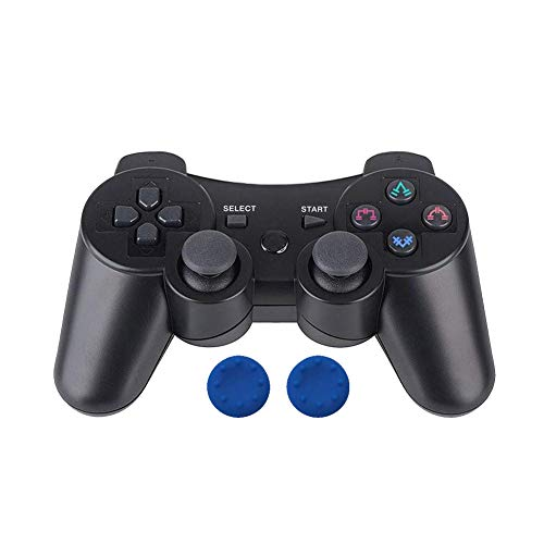 PS3 Controller Wireless Double Shock Controller for Playstation 3 with Charge Cord