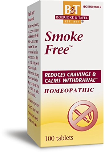 Boericke and Tafel Smoke Free Naturally Tablets, 100 Count