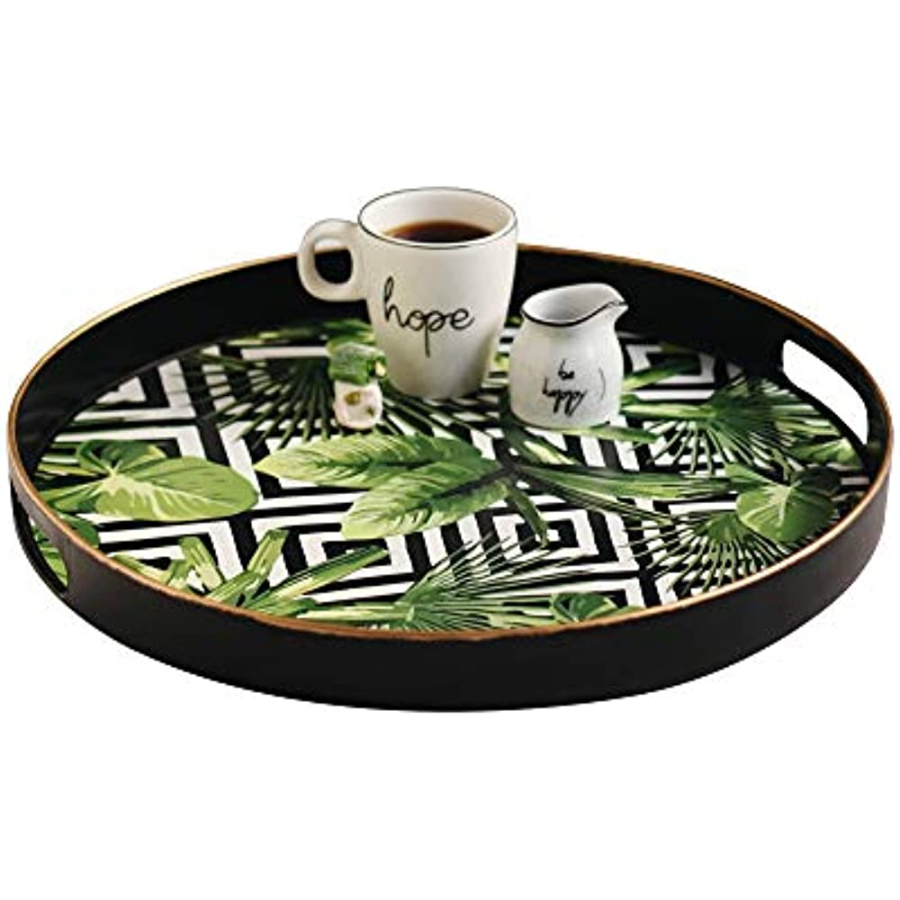 Sandiklife Decorative Serving Tray Coffee Table Plastic ...