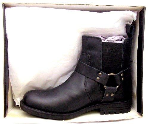 Para hombre sin dedos M 761 A Roamers color botas de Chelsea de tobilleras con peso de piel con