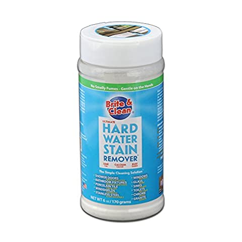 Brite & Clean Ultimate Hard Water Stain Remover - Water Spots Chrome
