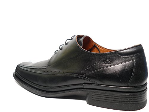 Zapatos hombre de vestir cordones FLUCHOS - Piel Negro - 5811 negro
