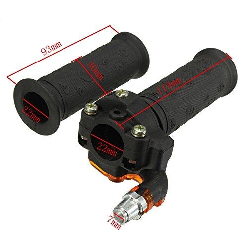 /Twist Throttle Accelerator Grips /& Cable for ATV Quad Dirt Pit Bike 90//110//125cc Ils/