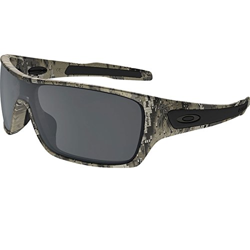 Oakley Mens Turbine Rotor Sunglasses, Desolve Bare Camo/Black Iridium, One - Oakley Camouflage Sunglasses