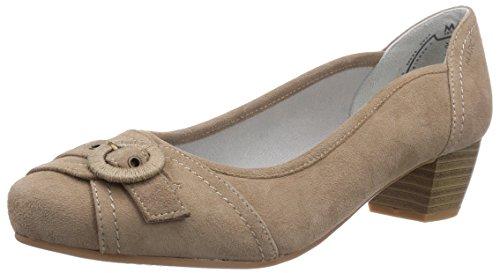 1 pieds Taupe 484 Gris 260 Marc 06 talons du 260 femme Avant Shoes à 21 couvert Chaussures Grau athena 75FqxTF