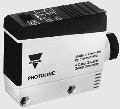 Carlo Gavazzi PMR10RIT Retro-Reflective Photoelectric Switch, Relay Output, Type PMR, 12-240 VDC, 24-240VAC, 50/60Hz