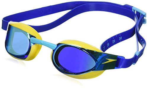 Speedo Fastskin Elite Junior Swimming Goggles, Blue, One Size