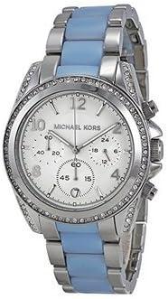 マイケルコース Michael Kors MK6137 Ladies Blair Two Tone Chrono Watch 女性 レディース 腕時計 【並行輸入品】