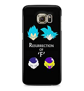 Dragon Ball Z Ressurection Of F Hard Plastic Snap-On Case Cover For Samsung Galaxy S6