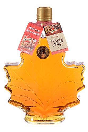 Turkey Hill Grade A Pure Maple Syrup 500ML Maple Leaf Bottle